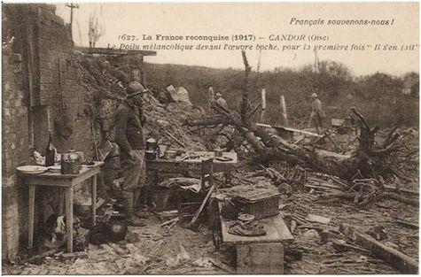 Candor a été détruit par les Allemands avant leur départ