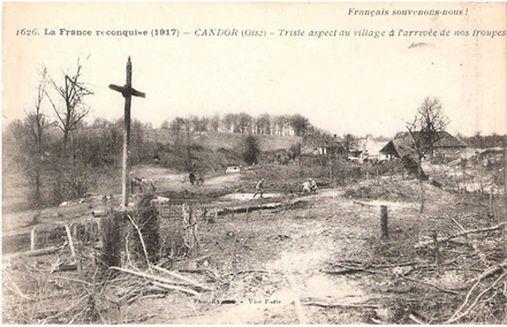 Candor a été détruit par les Allemands