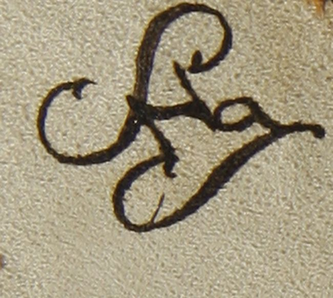 le Z de leur fille est situé entre les deux initiales des parents